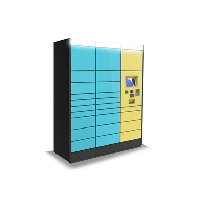 Outdoor Parcel Locker With Touch Screen